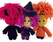 Halloween Amigurumi Crochet patterns