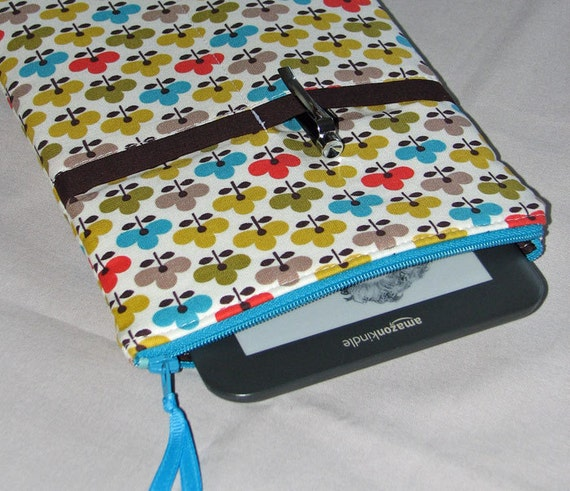 Kindle - Nook -  KOBO Pouch E-reader case Kindle Gadget Case - Ellie - READY to Ship