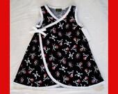 New Punk Rock Pirate Sailor Kimono Girls Dress Size 4t-6