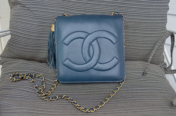 Vintage 80s Chanel Flap Bag
