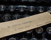 Custom Typed Message for Message Box or Message Bottle