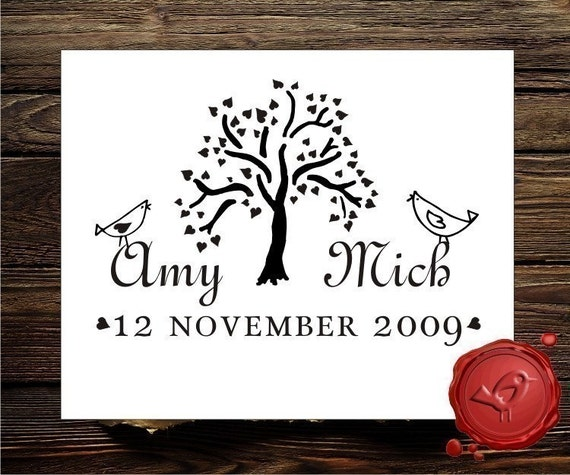custom stamp wedding stamp address rubber stamp save the date