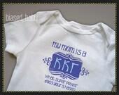 Kappa Kappa Gamma Mommy - Funny Baby Gift