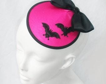 BAT HAT in Satin Fabric