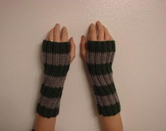 Made to Order Harry Potter Slytherin Fingerless Gloves