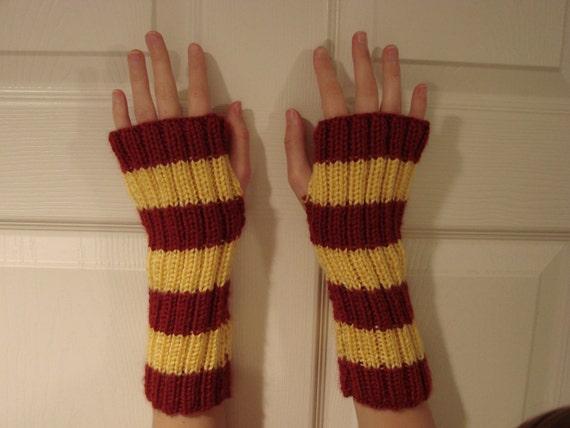Harry Potter Gryffindor Fingerless Gloves