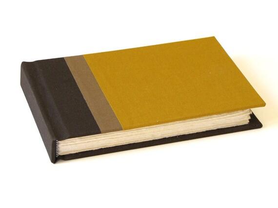 4 x 6 Tri Color Guest Book or Sketch Book