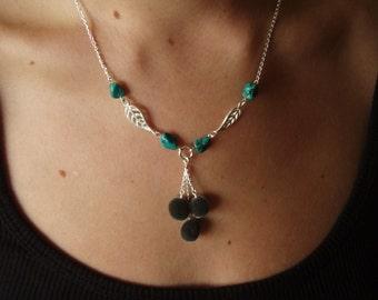 Mgambo Seeds/ Weleweka/ Mgambo Beads with Turquoise