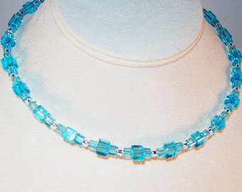 Turquoise Celestial Crystal Necklace