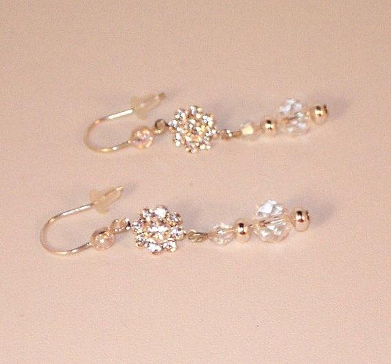 EXCLUSIVE LISTING for SANDRA - Swarovski Crystal Flower Bracelet and Earrings - Custom Designed