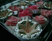 Mad About Pink Collection- Assorted Pink and White Royal Icing Sugar Flowers