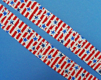 Neck Cooler Unisex Cool Tie Patriotic Red White Blue Stars and Stripes