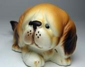 puppy dog figurine Napcoware sad face