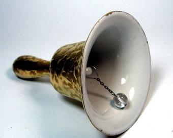 Golden Anniversary China Ceramic Bell