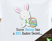 Easter big brother to be tshirt - easter bunny big brother secret pregnancy announcement shirt