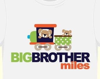 big brother train tshirt