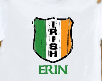 Irish Monogram T-shirt-Perfect for St. Patty's Day