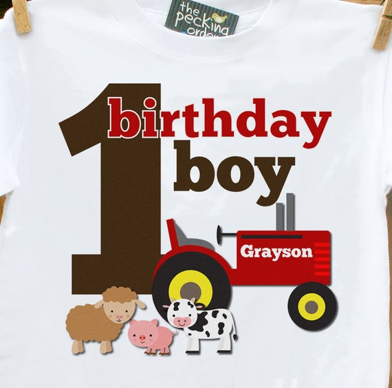 Party Animal 1st Birthday First Birthday Ideas: First 1st Birthday Boy Farm Old Mcdonald Theme By Zoeysattic