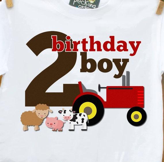 birthday boy farm shirt - any age - old mcdonald theme birthday party shirt perfectly adorable