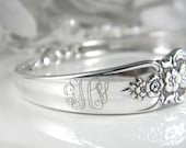 Spoon Bracelets Spoon Jewelry Silverware by SilverSpoonCreations