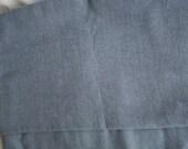 Gray Gabardine Fabric 36 X 60 inches