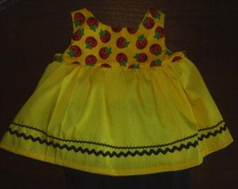 Halloween Doll Clothes fits Build a Bear Hello Kitty 2 pc.HandMade