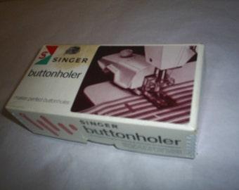 ButtonHoler Attachment Singer Sewing Machine