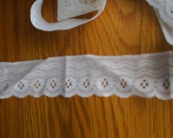 Sweet White Flat Lace