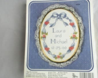 Counted Cross Stitch Embroidery New kit with frame