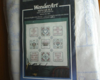 Counted Cross Stitch Embroidery Kit Heirloom Quilt