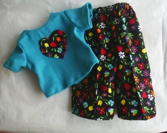 American Girl Doll Clothes fits Gotz 16 to 18 inch dolls HandMade Blouse Pants