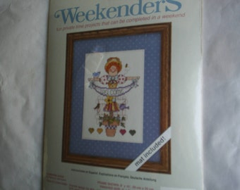 NeedlePoint Counted Cross Stitch Embroidery New kit