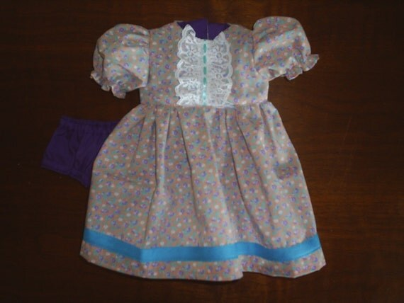 Dress for American Girl New Clothes & Gotz HandMade Dress and panties