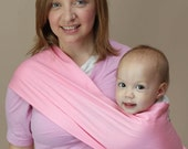 XL PINK Native Baby Pouch Sling