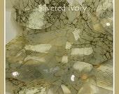 Silvered Ivory Shards coe 104 - .2 oz