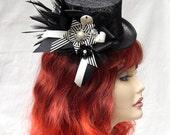 Hat, Mini Top Hat, Gothic, Lolita, Fascinator