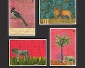 Set of 8 Postcards- Imagenary friends I