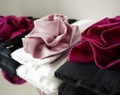 Bridesmaids clutches made in your color scheme