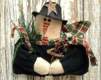 105 - Bundle Up Snowman Ornament e-Pattern