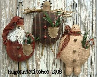 110 - Jolly Ole Winter Ornament e-Pattern