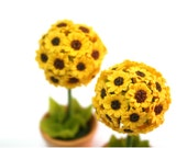 Sunflowers, Sunshine Flower Topiary, Adoration and Pride 1 piece