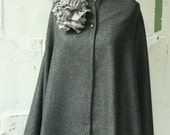 LOVE sale artLAB Wool Gray wrap ruffle