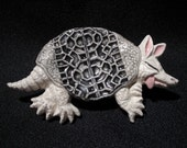 Roadkill Armadillo - Spoonrest - Tea Bag Holder - Accessory