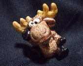 Chocolate Moose - Fun Gift - Collectible - Silly Moose