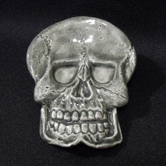 Ceramic Skull - Teabag Holder and More