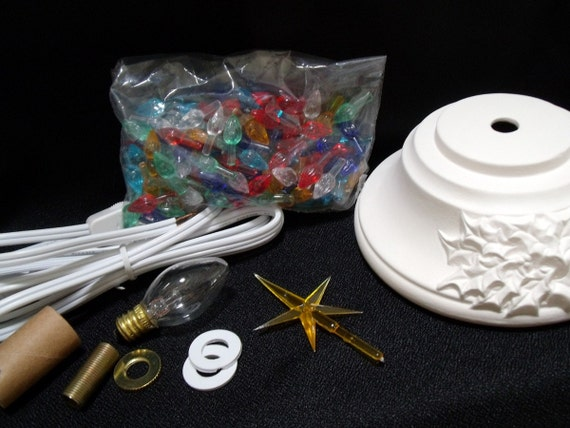 Ready To Paint Ceramic Christmas Tree Kit 11 Inches