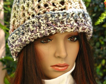 Crocheted Hat - Multicolor