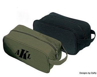 Men's Personalized Toiletry / Travel Kit Bags