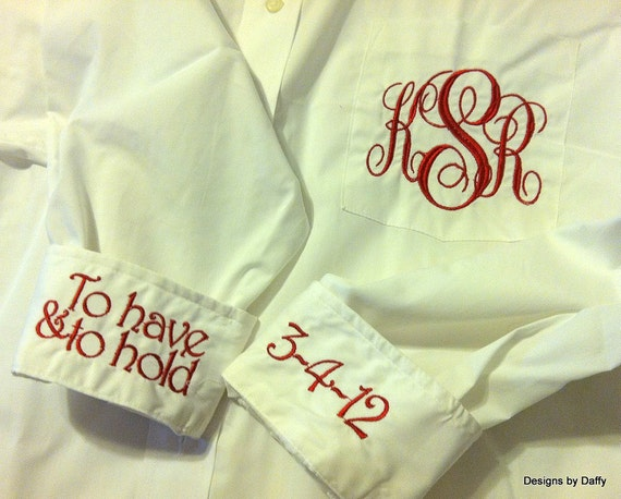 Monogrammed Bridal Party Oversized Shirts - Super Cute Bridesmaid Gift Set of 8