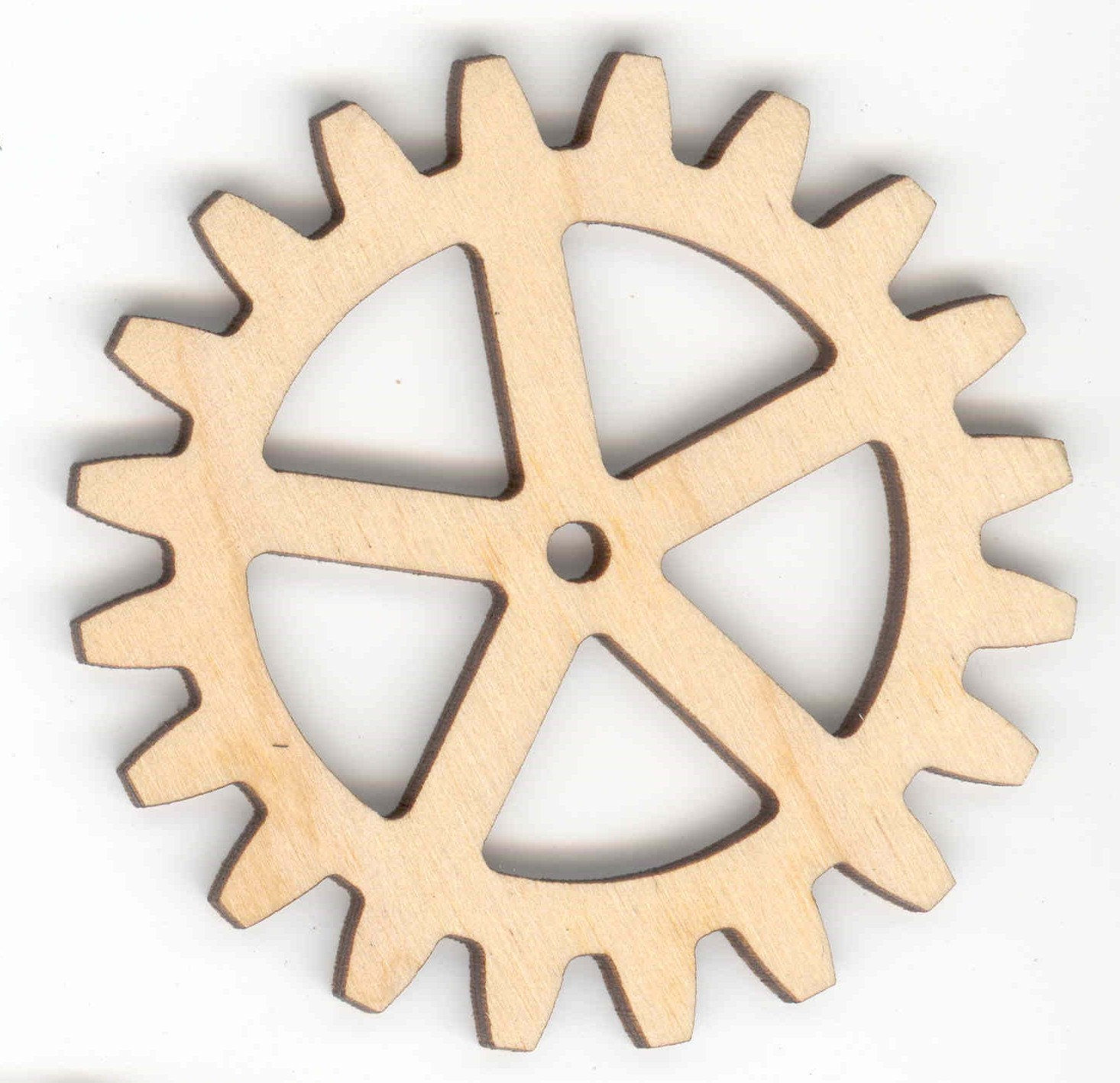2 2 Diameter Wood Gear/Sprocket with Spokes